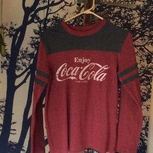 Other - Vintage style Coca-Cola lg sleeve tee Men's S
